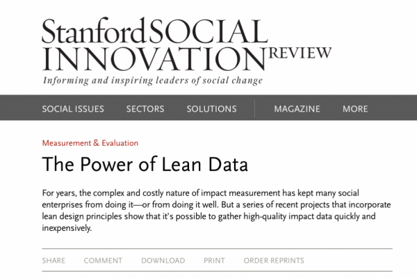 the_power_of_lean_data