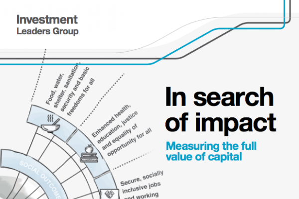 In search of impact - measuring the full value of capital